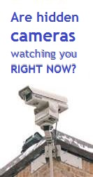 Are hidden cameras watching you?