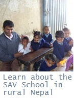 SAV School in Nepal