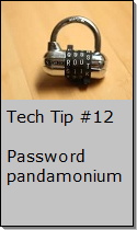 Setting up a secure password