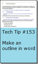 Make an Outline in Word