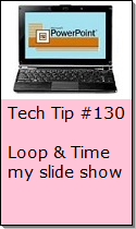 Loop and Time a Powerpoint