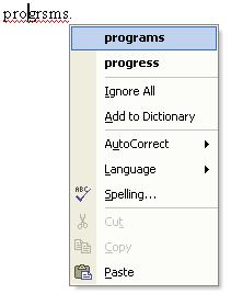 Spell Check in Word 01