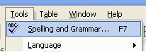 Spell Check in Word 02