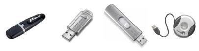 Sample USB drives